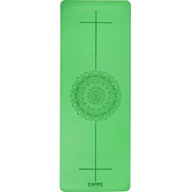 CAMPZ PU Position Line - Esterilla de yoga - verde